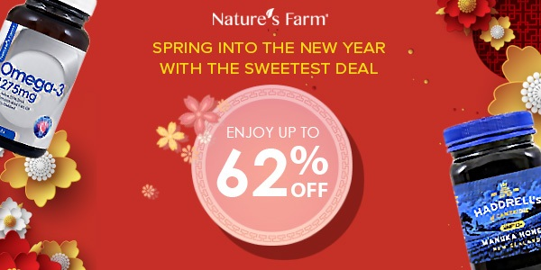 Nature's Farm Lunar New Year Offers – Up to 64% Off!