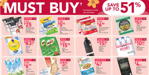 NTUC FairPrice Singapore Your Weekly Saver Promotions 25 Feb – 3 Mar 2021
