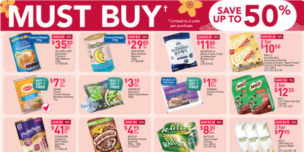 NTUC FairPrice Your Week Saver Promotions 18-24 Feb 2021