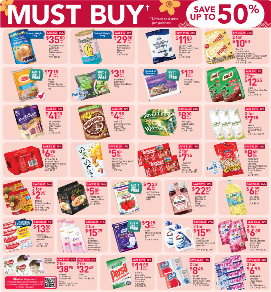 NTUC FairPrice Your Week Saver Promotions 18-24 Feb 2021 | Why Not Deals