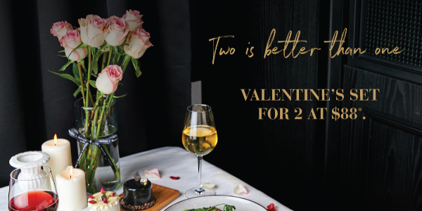 PAZZION Cafe Valentine's Day – Two Is Better Than One