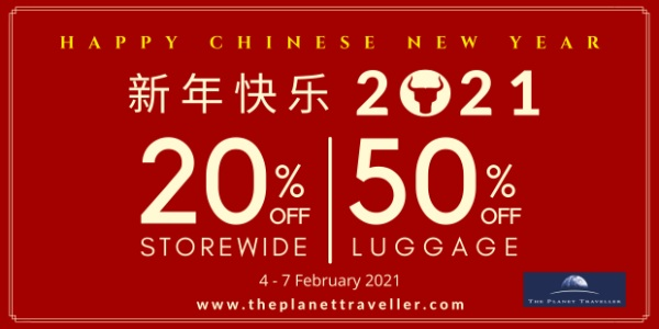 The Planet Traveller Chinese New Year Sale