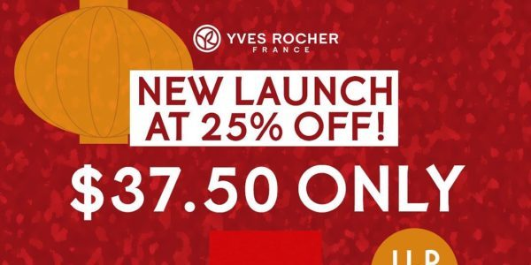Yves Rocher Singapore New Fragrance Launch 25% Off Promotion 1-28 Feb 2021