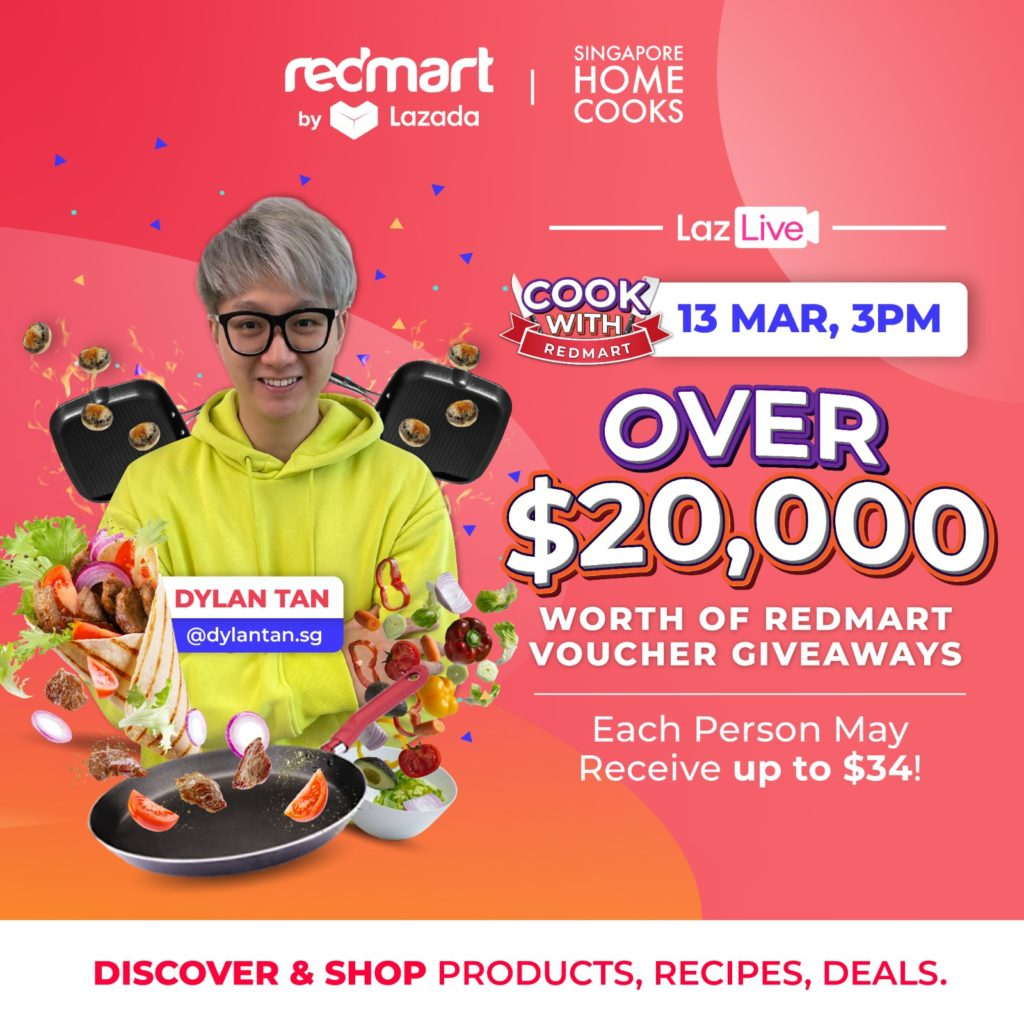 [Giveaway] $20,000 RedMart Vouchers to be given away during this Sat's RedMart live! | Why Not Deals 1