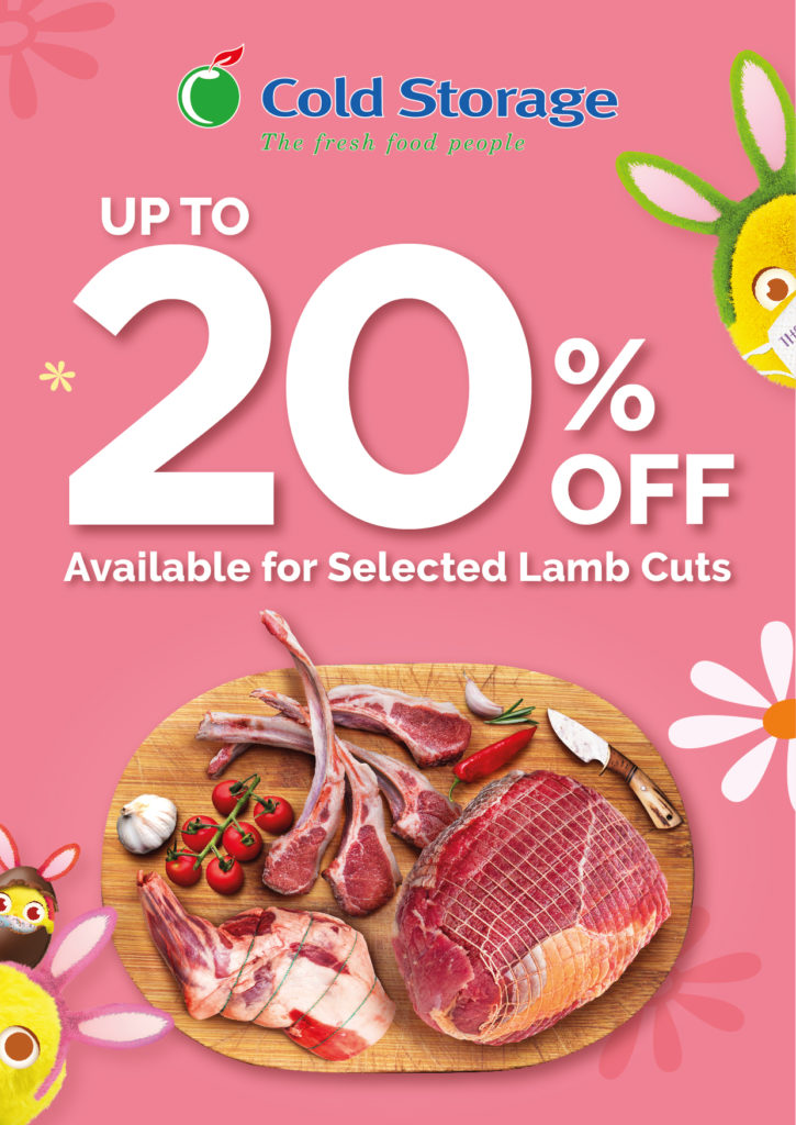 Up to 20% off selected lamb cuts at Cold Storage!   Why Not Deals 1