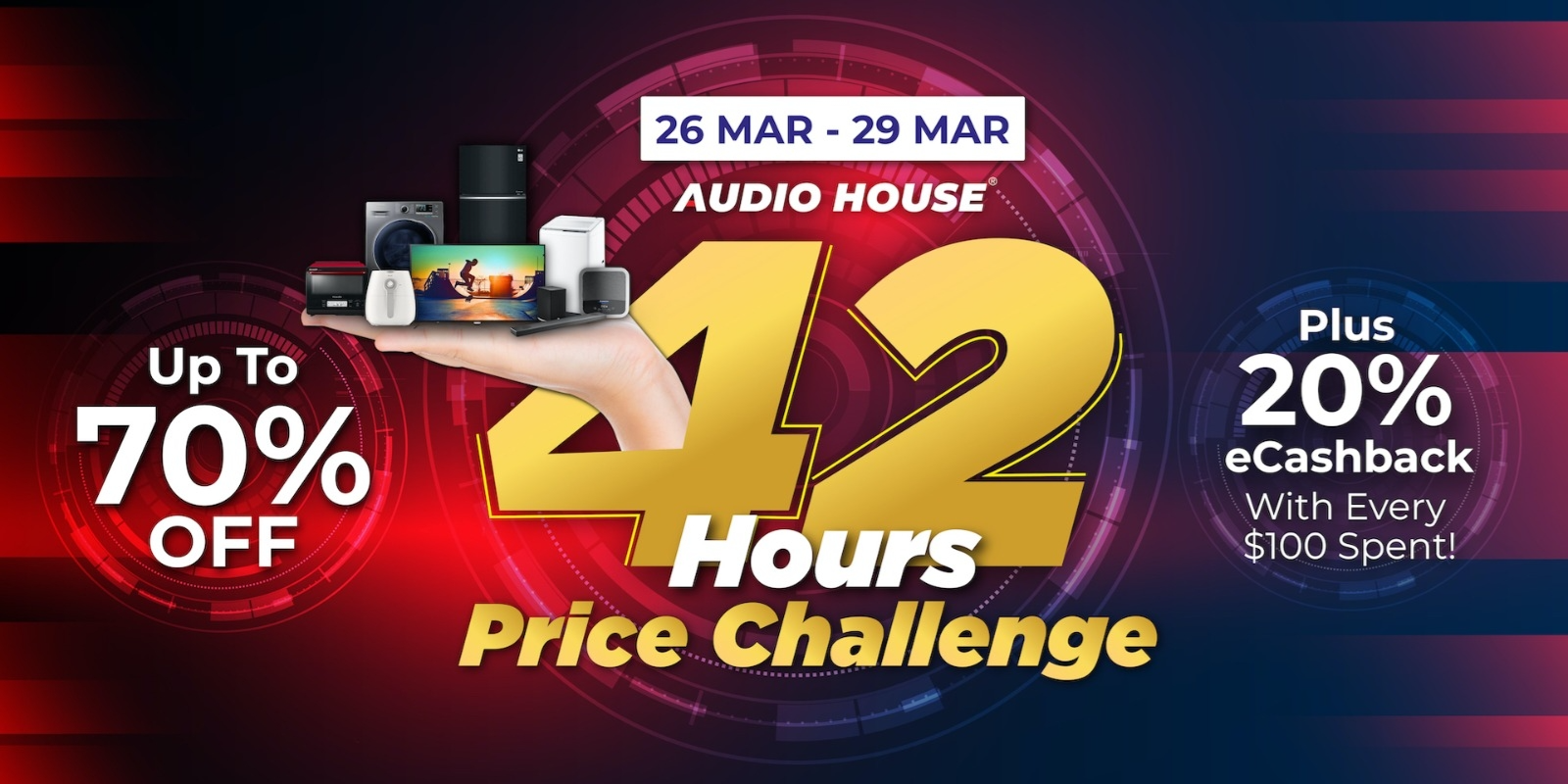 Audio House 42 Hours Price Challenge