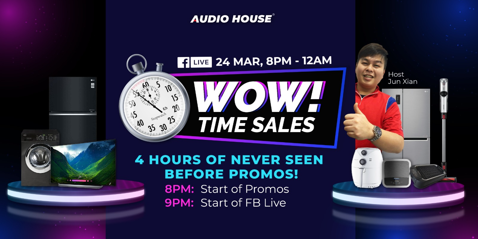 Audio House Wow! Time Sales