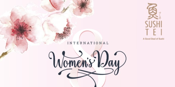 Celebrate International Women's Day at Sushi Tei