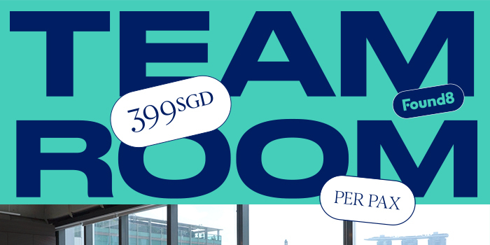 Get A Team Room for 399 SGD per pax