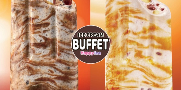 Ice cream buffet for only $9.90