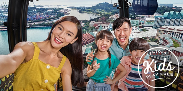 Make time for a Holiday at Sentosa — Kids play free in March!