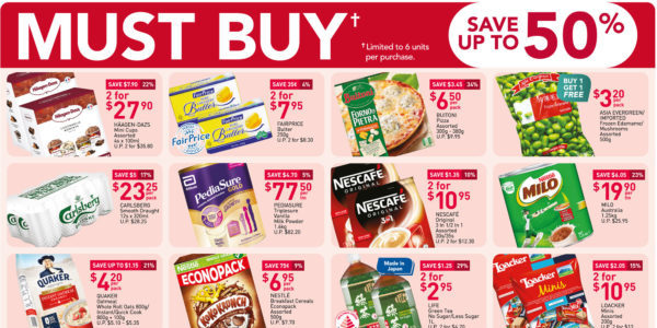NTUC FairPrice Singapore Your Weekly Saver Promotion 11-17 Mar 2021