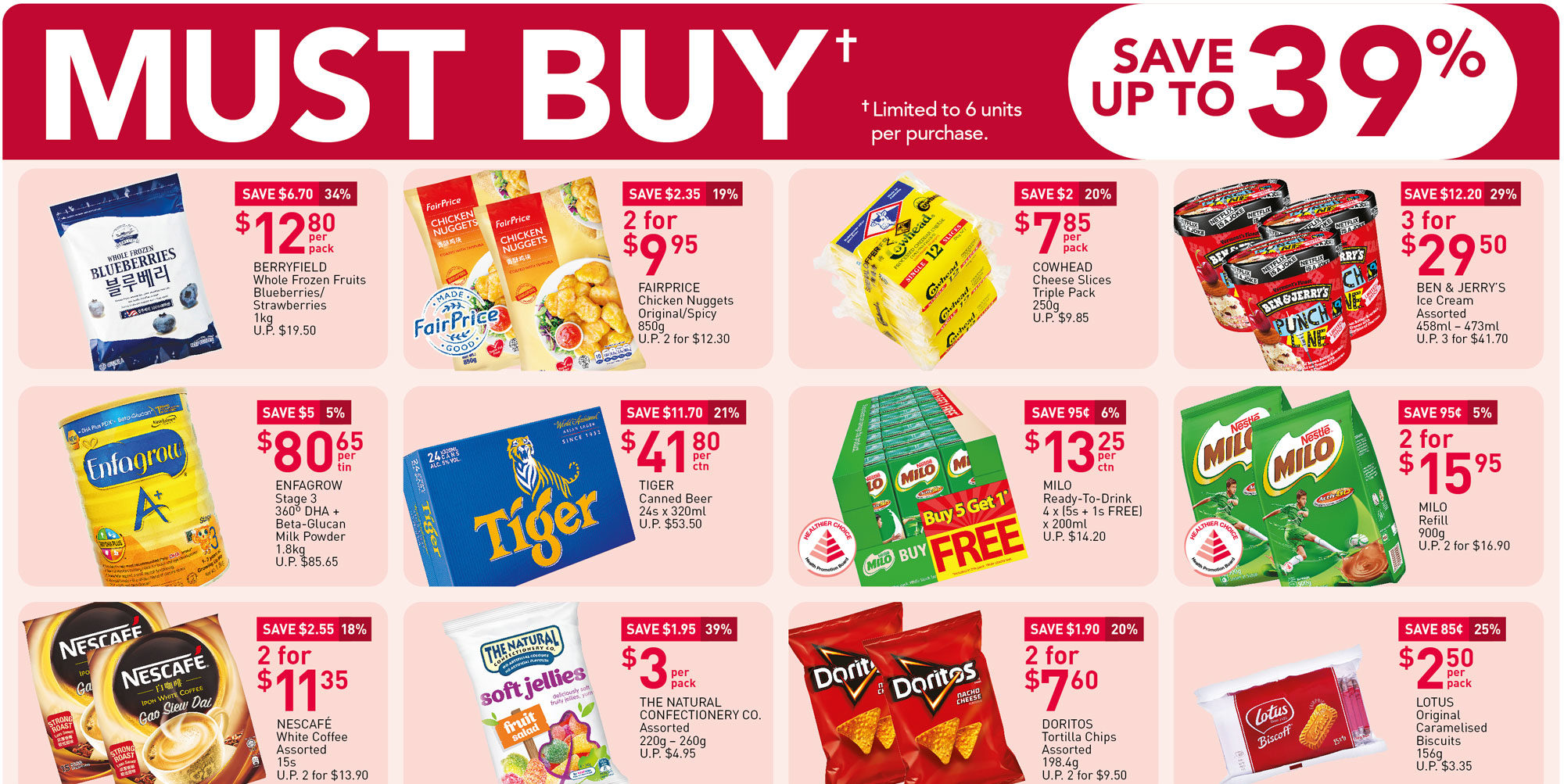 NTUC FairPrice Singapore Your Weekly Saver Promotions 18-24 Mar 2021
