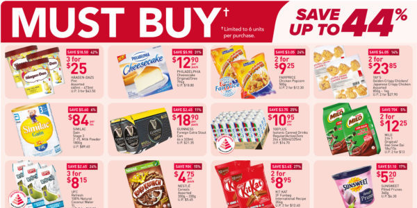 NTUC FairPrice Singapore Your Weekly Saver Promotions 25-31 Mar 2021