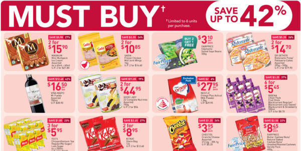 NTUC FairPrice Singapore Your Weekly Saver Promotions 4-10 Mar 2021