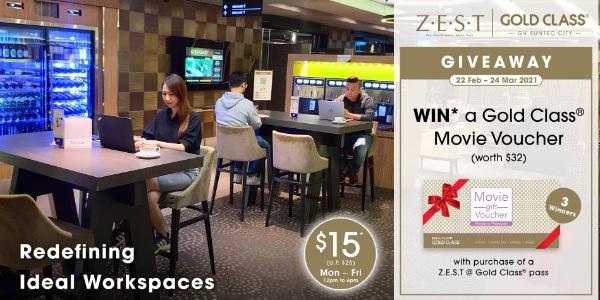 [PROMOTION TIP-OFF] Golden Village Z.E.S.T @ Gold Class® Giveaway