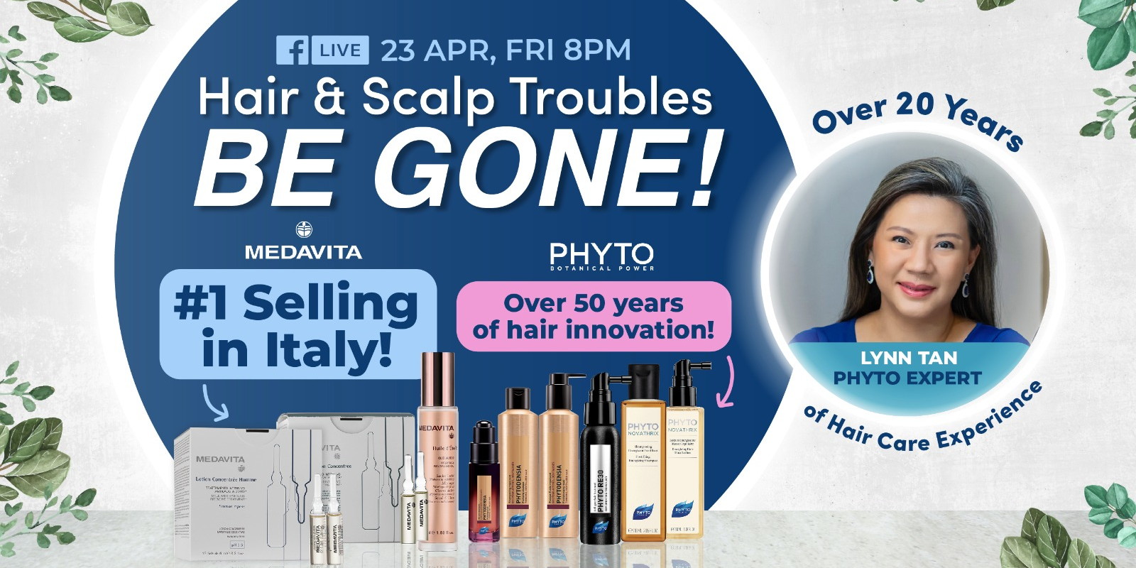 Hair & Scalp Troubles Be Gone!