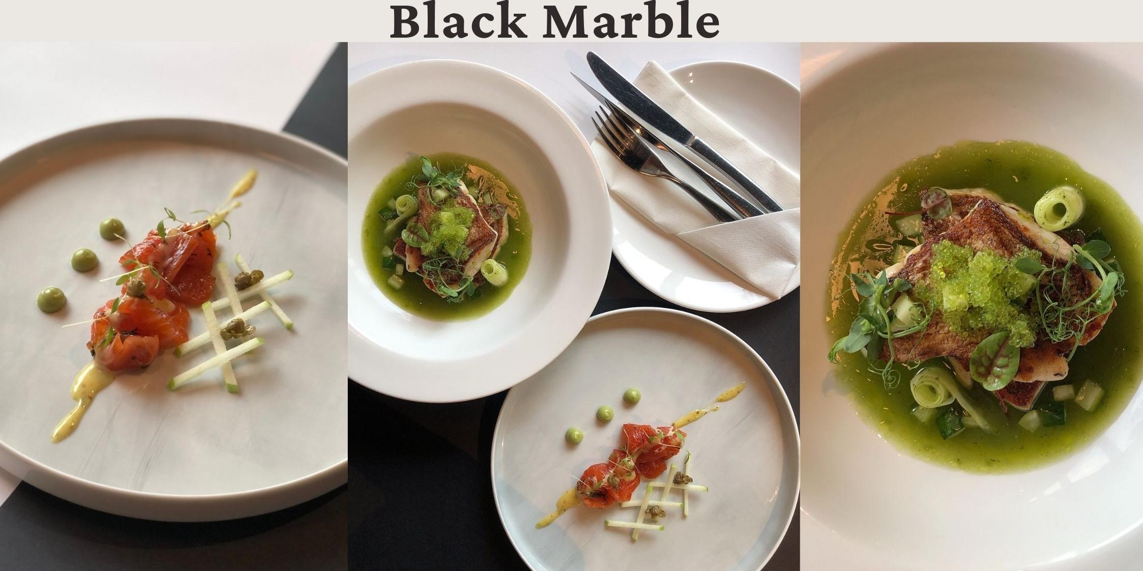 Black Marble a Secret Hidden Gem steak & grill restaurant, offers lunch sets from $23.90++!