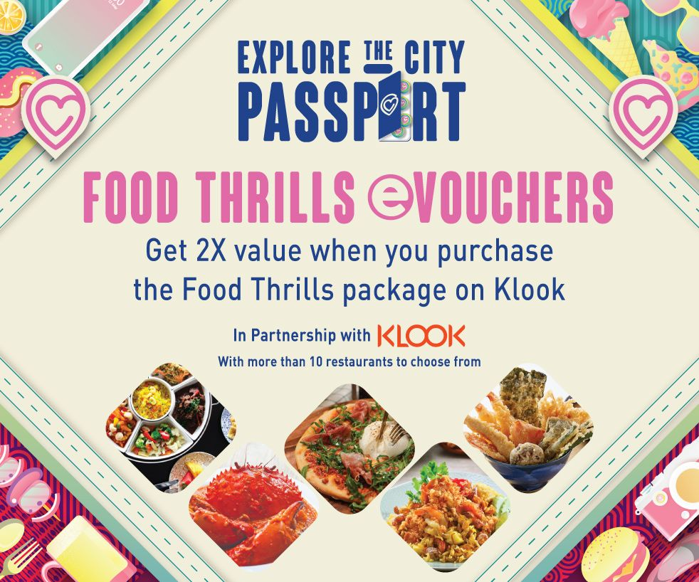 Enjoy Over 50% in Returns! Spend $50 and Get $110 Worth of Food Vouchers (Launching 9 April) | Why Not Deals 1