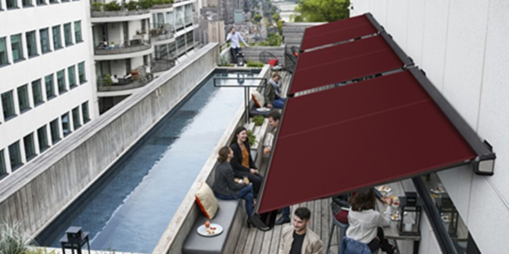 mc.2 Launches New Generation Smart Awnings with the Industry's First Self-Cleaning Technology!