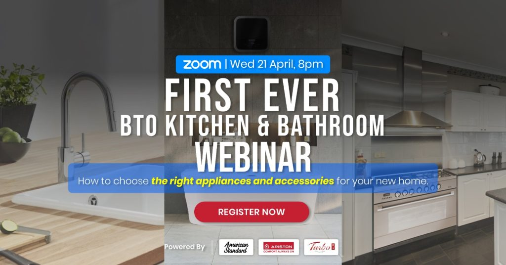 [American Standard x Ariston x Turbo] First-Ever New Homeowner Guide to Kitchen & Bathroom Appliance | Why Not Deals