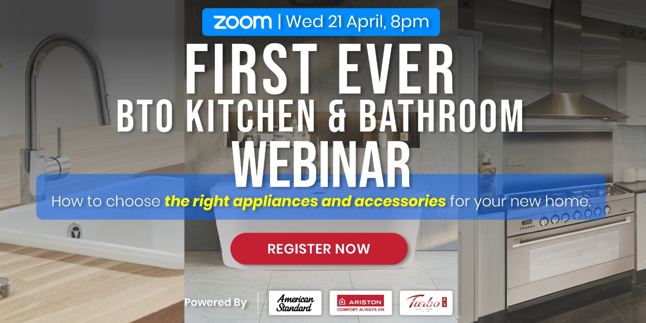 [American Standard x Ariston x Turbo] First-Ever New Homeowner Guide to Kitchen & Bathroom Appliance