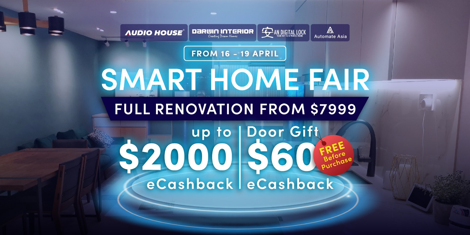 Audio House Smart Home x Vacuum x BTO Sale