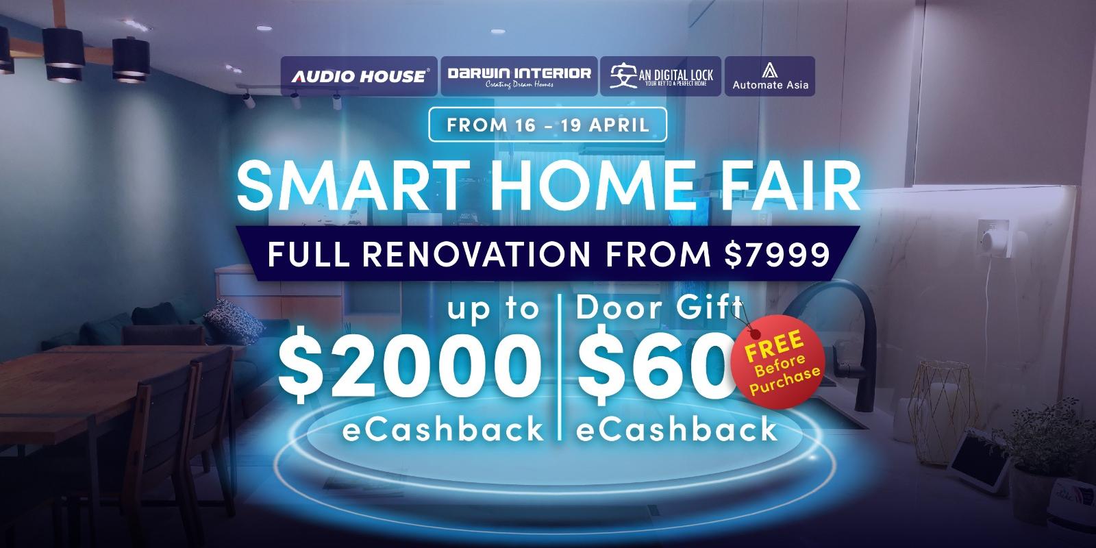 Audio House Smart Home x Vacuum x BTO Sale