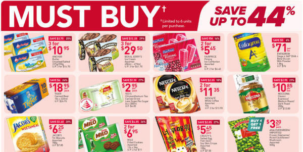 NTUC FairPrice Singapore Your Weekly Saver Promotions 15-21 Apr 2021