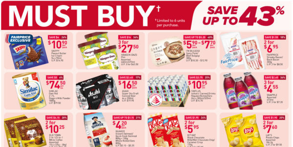 NTUC FairPrice Singapore Your Weekly Saver Promotions 22-28 Apr 2021