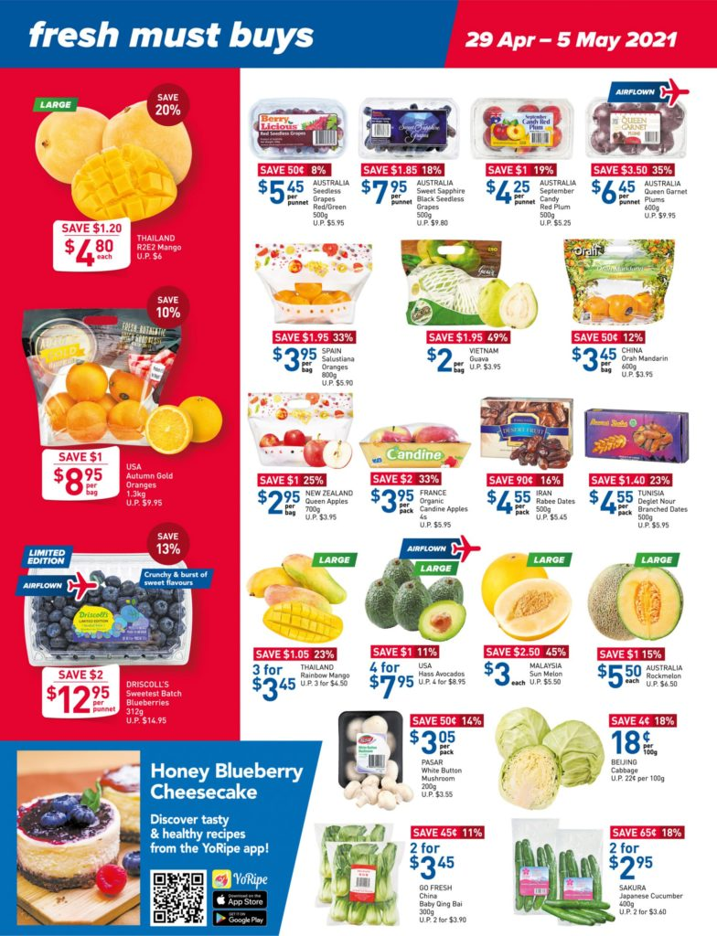 NTUC FairPrice Singapore Your Weekly Saver Promotions 29 Apr - 5 May 2021 | Why Not Deals 9