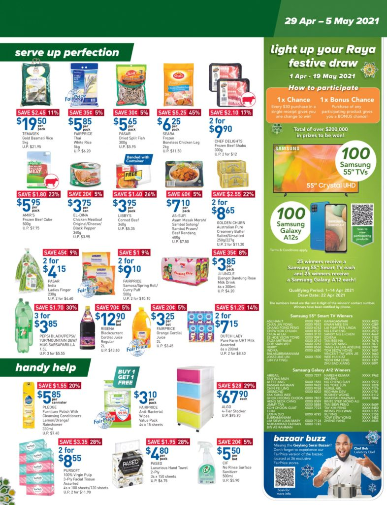 NTUC FairPrice Singapore Your Weekly Saver Promotions 29 Apr - 5 May 2021 | Why Not Deals 11
