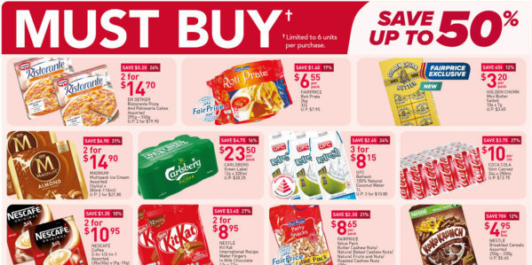 NTUC FairPrice Singapore Your Weekly Saver Promotions 29 Apr – 5 May 2021