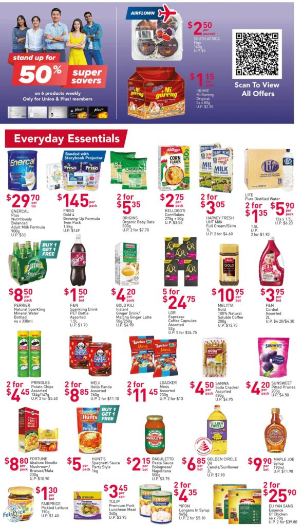 NTUC FairPrice Singapore Your Weekly Saver Promotions 29 Apr - 5 May 2021 | Why Not Deals 2