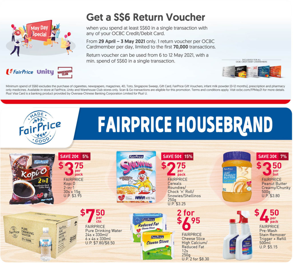 NTUC FairPrice Singapore Your Weekly Saver Promotions 29 Apr - 5 May 2021 | Why Not Deals 3