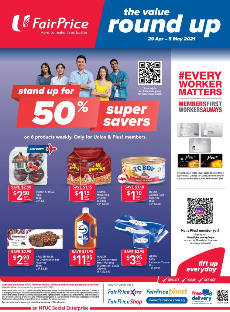 NTUC FairPrice Singapore Your Weekly Saver Promotions 29 Apr - 5 May 2021 | Why Not Deals 8