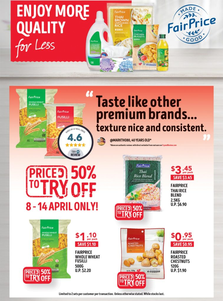 NTUC FairPrice Singapore Your Weekly Saver Promotions 8-14 Apr 2021 | Why Not Deals 10