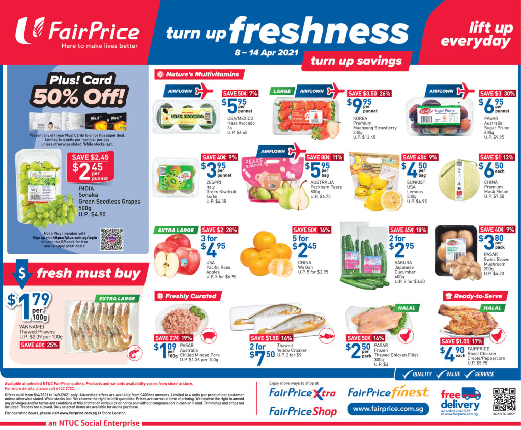 NTUC FairPrice Singapore Your Weekly Saver Promotions 8-14 Apr 2021 | Why Not Deals 7