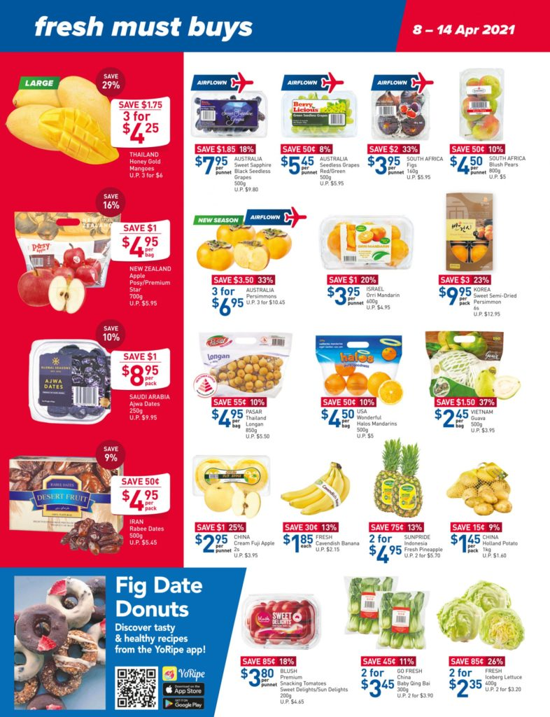 NTUC FairPrice Singapore Your Weekly Saver Promotions 8-14 Apr 2021 | Why Not Deals 8