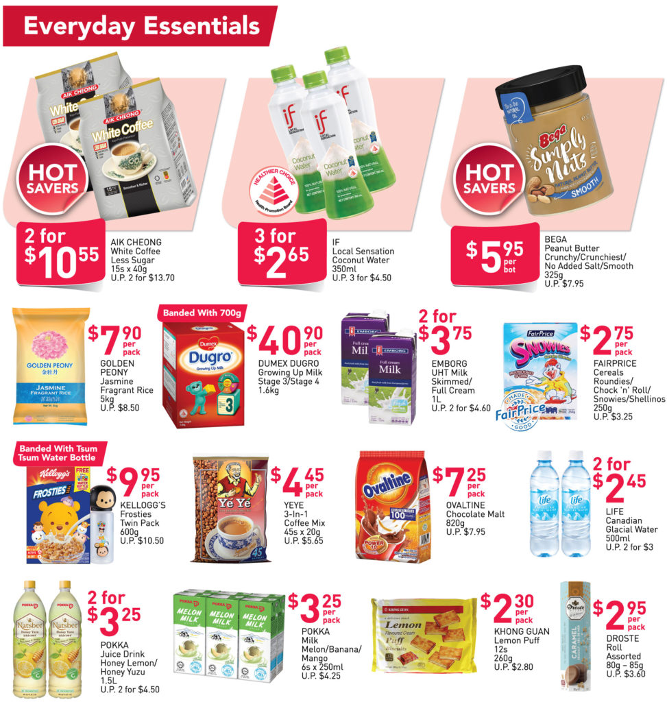 NTUC FairPrice Singapore Your Weekly Saver Promotions | Why Not Deals 21