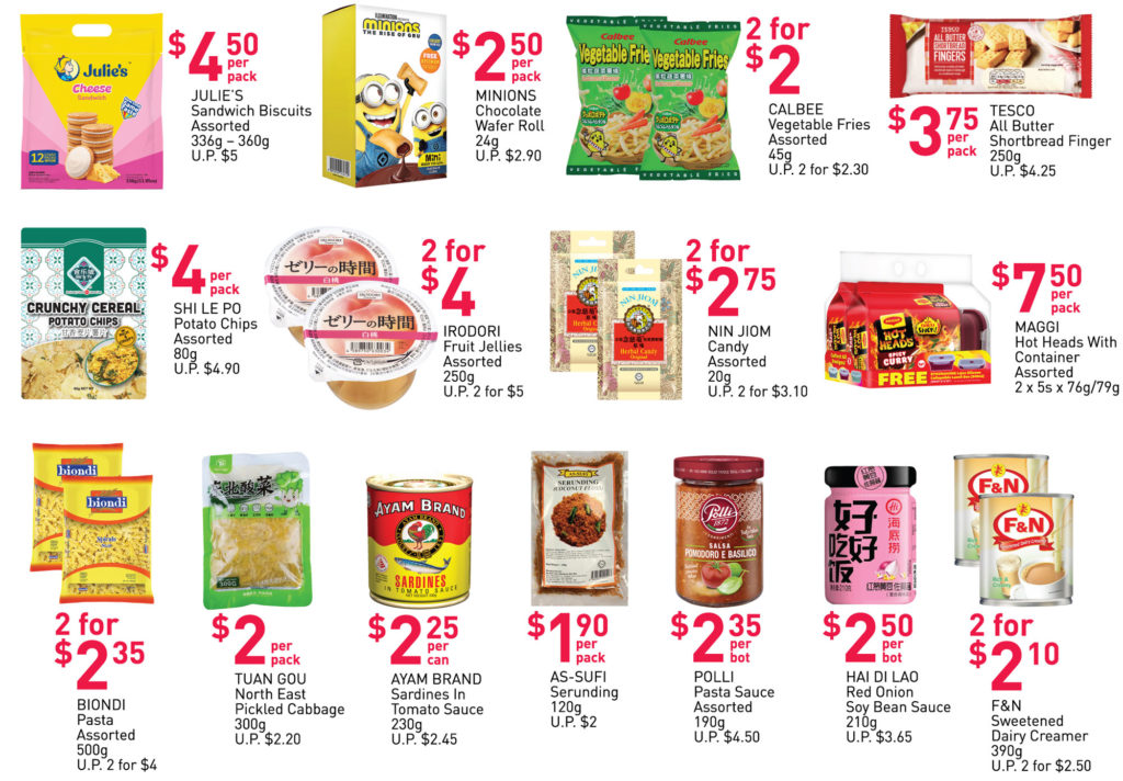 NTUC FairPrice Singapore Your Weekly Saver Promotions | Why Not Deals 23