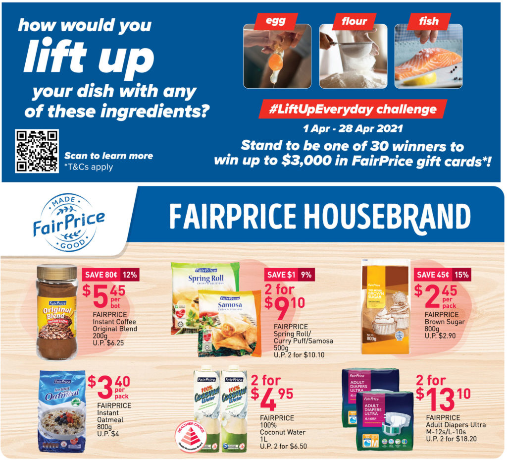 NTUC FairPrice Singapore Your Weekly Saver Promotions | Why Not Deals 24