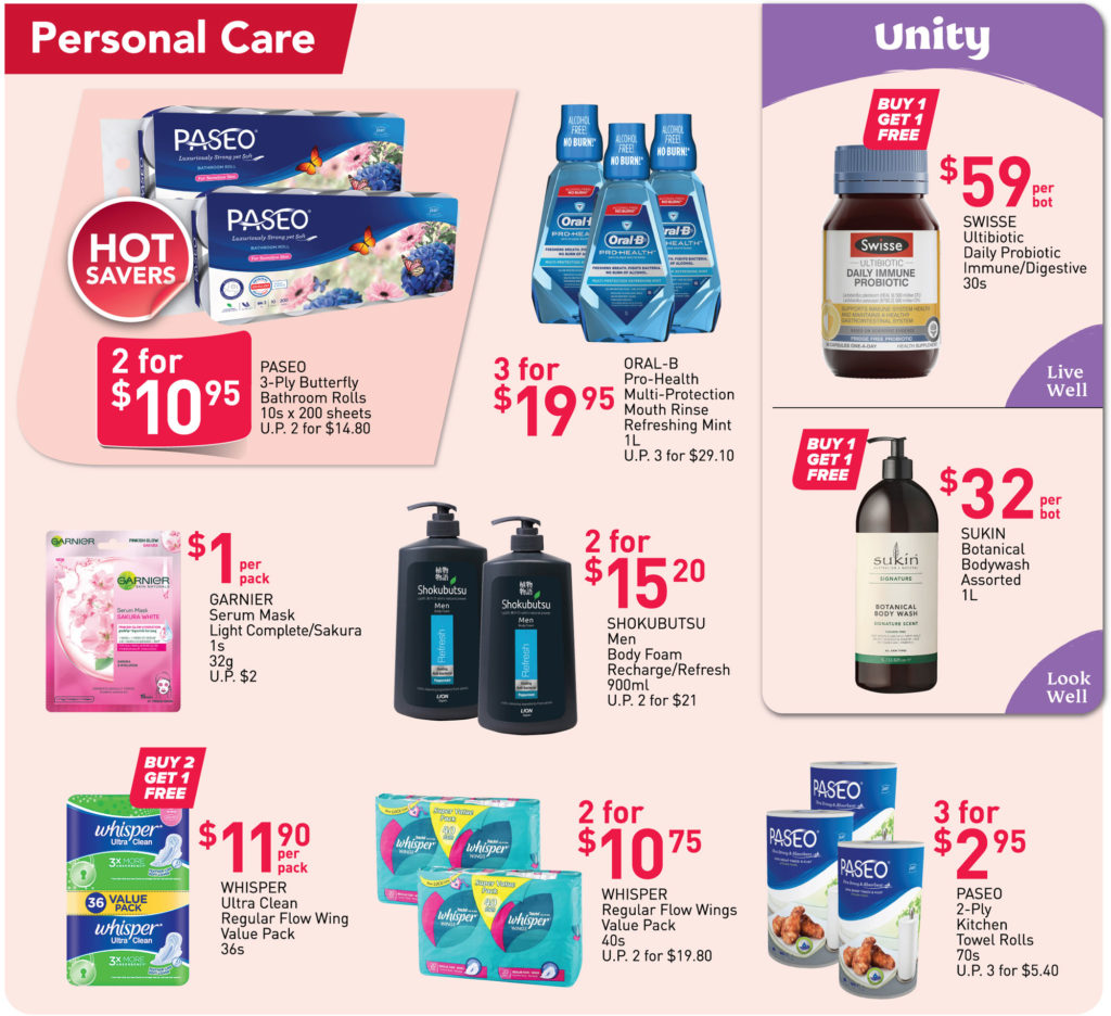NTUC FairPrice Singapore Your Weekly Saver Promotions | Why Not Deals 25