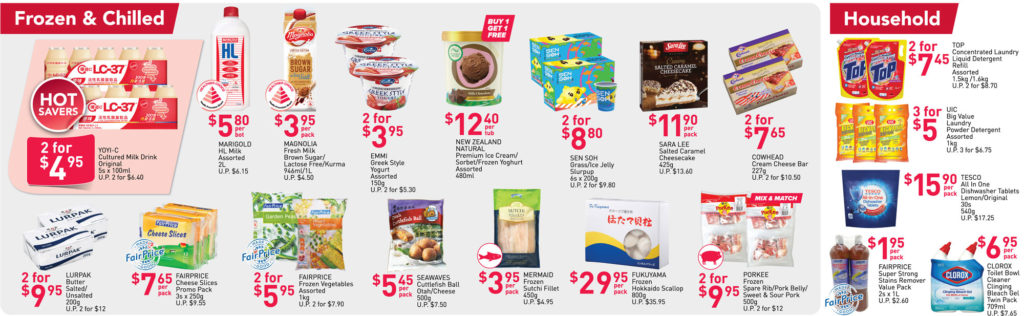 NTUC FairPrice Singapore Your Weekly Saver Promotions | Why Not Deals 26