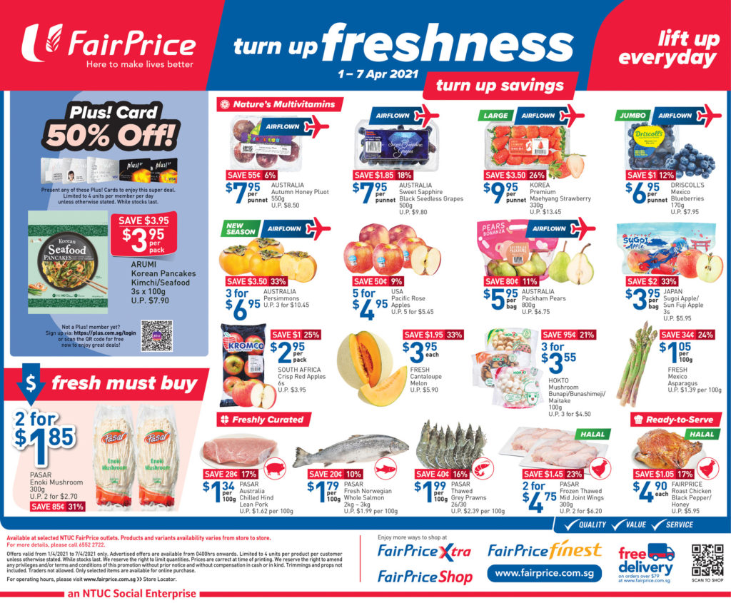 NTUC FairPrice Singapore Your Weekly Saver Promotions | Why Not Deals 28