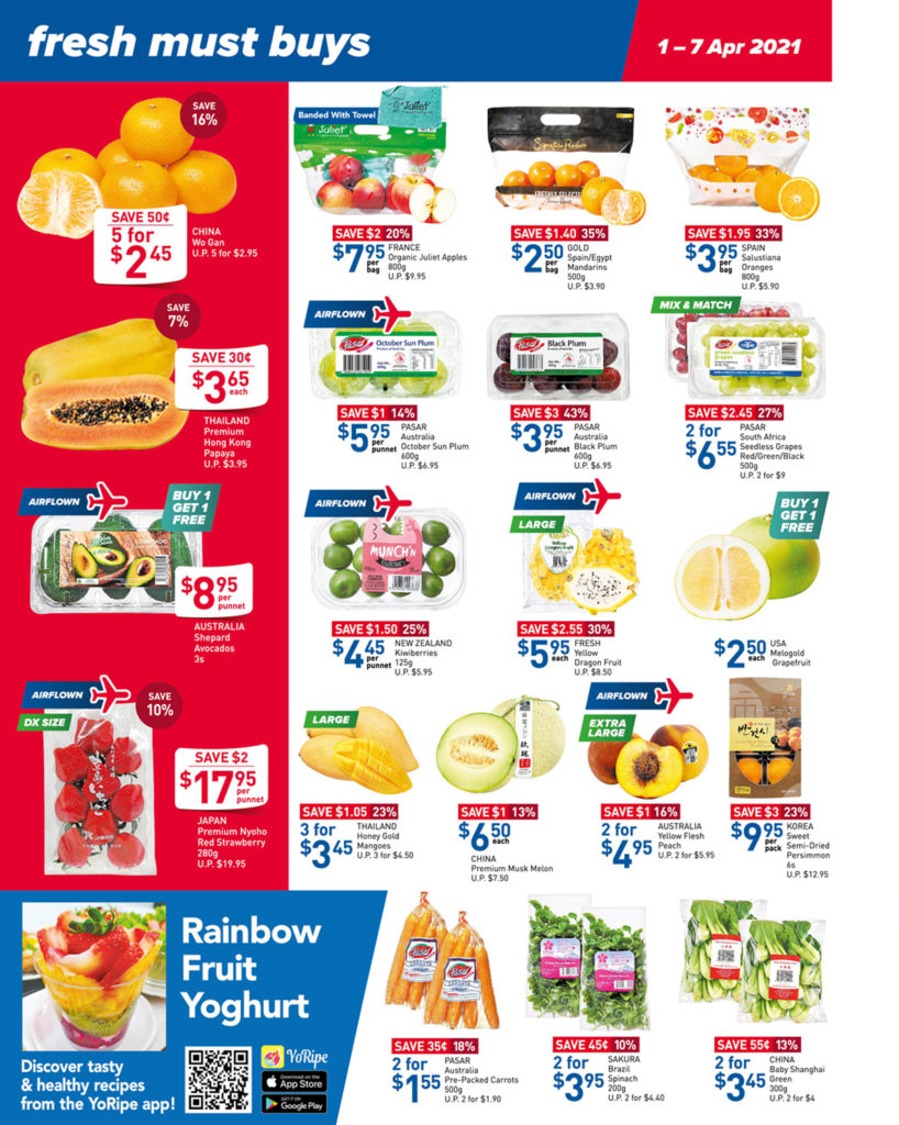 NTUC FairPrice Singapore Your Weekly Saver Promotions | Why Not Deals 29