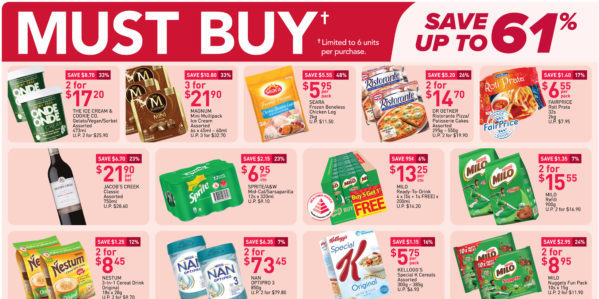 NTUC FairPrice Singapore Your Weekly Saver Promotions 1-7 Apr 2021