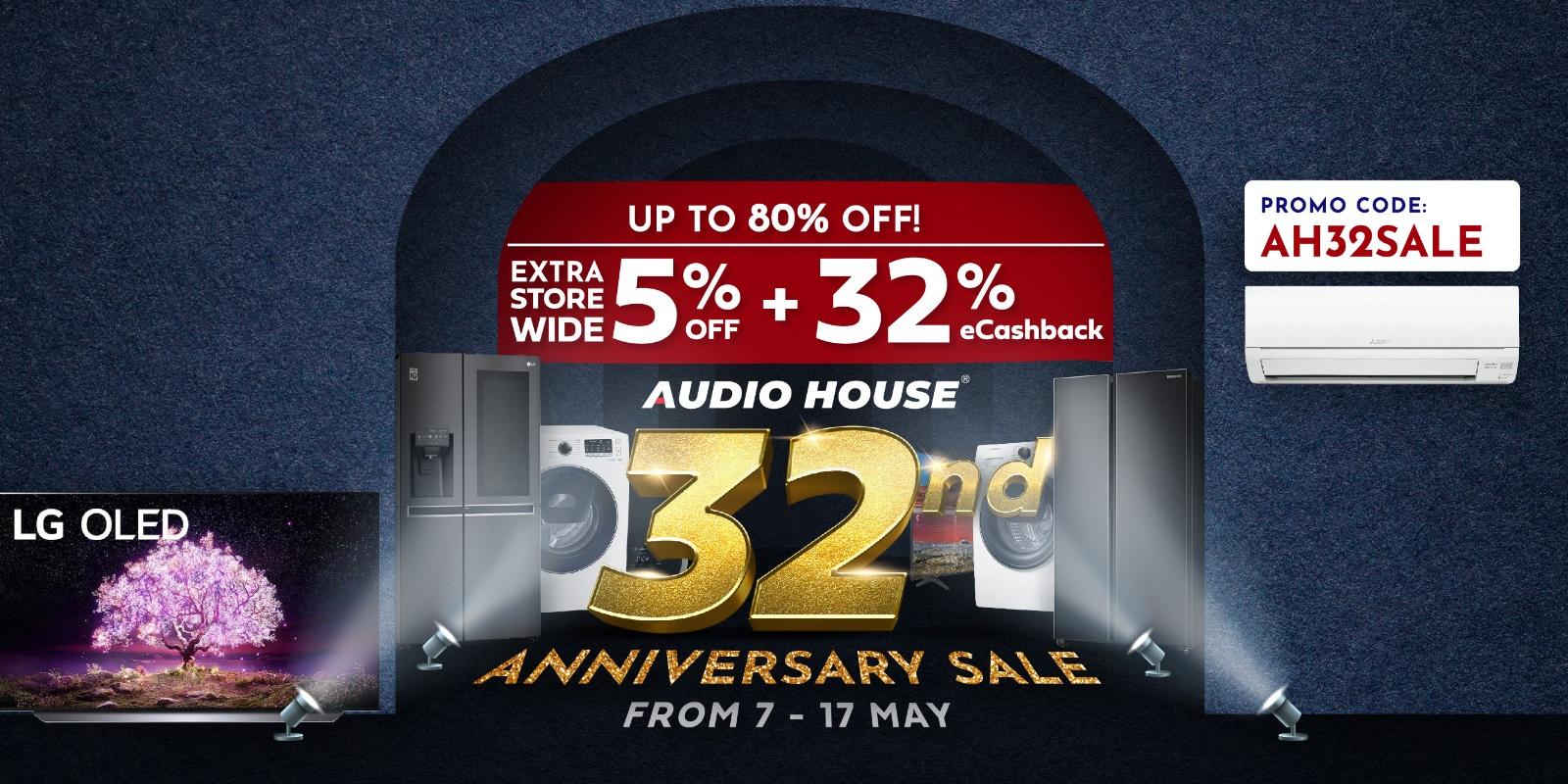 Audio House 32nd Anniversary Sale