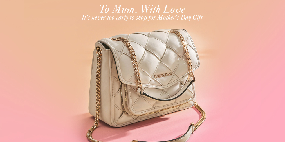 Michael Kors IMM Celebrates Mother's Day with Storewide Up to 50% off + Additional 20% off