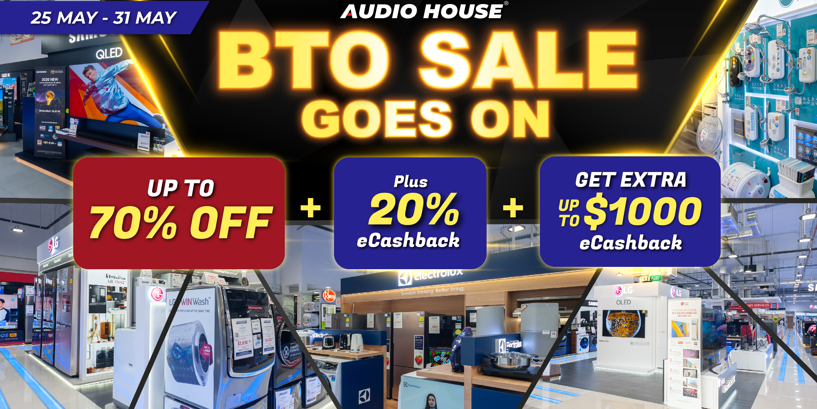 Audio House BTO Sale Goes On
